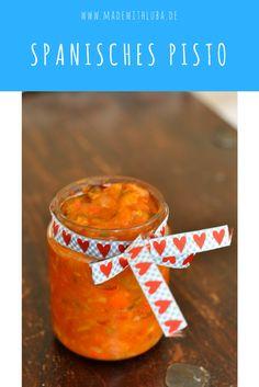 Pisto ist die spanische Variante von Ratatouille. Gemüse, gesunde Ernährung, Beilage, vegetarisch, Paprika, Zucchini, Tomaten, Tapas, Kochen mit Gemüse, Thermomix