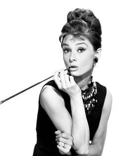 Audrey Hepburn Breakfast At Tiffanys Poster, Printable Wall Art, Digital Print