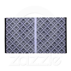 damask with changeable backgrond color ipad cases from Zazzle.com