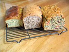Olive Bread, Walnut Bread, Herb Bread