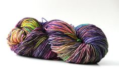 "Hand dyed yarn ""Jellies"" by WrenHouseYarns"