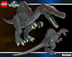 1000 ideas about spinosaurus on pinterest tyrannosaurus prehistoric and fossils - Lego dinosaurs spinosaurus ...