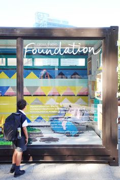 The Cécile & Boyd Foundation is involved in creating inspiring spaces for disadvantaged children in either refurbished containers. Power Colors, Different Patterns, Foundation, Colours, Spaces, Texture, Architecture, Children, Creative