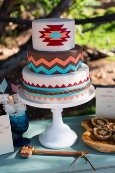 Looking to make bold, exciting cakes? Take inspiration from the vibrant visuals of indigenous cultures from around the world.