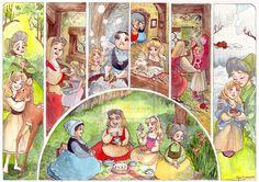 Childhood of Briar Rose by ~TaijaVigilia on deviantART (Aurora ~ Sleeping Beauty)