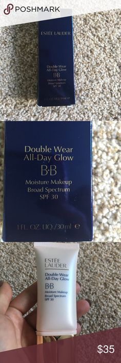 Estée Lauder Double Wear All Day Glow Color 3.0 New never used. SPF 30 lightweight makeup . Estee Lauder Makeup Foundation