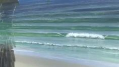This lesson will teach the budding painter how to add dimension to an acrylic painting of the ocean by using the wet-on-wet technique.