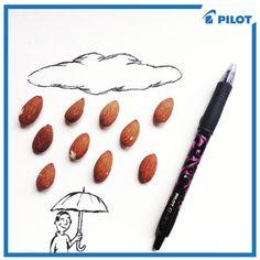 Připravte si deštníky a teplé oblečení. Počasí je v těchto dnech opravdu rozmarné :) To naše je ale poněkud kreslenější a voňavější! #happywriting