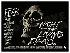 Night Of The Living Dead Movie Poster Print Class Horror