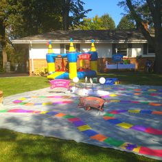 Candy Land Birthday Party- looks like what you would want
