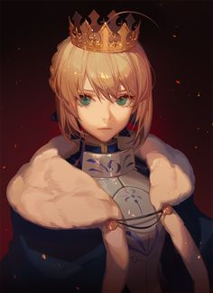 ★ ASK | King Arthur ☆ ⊳ saber (fate series) ✔ artist allows reprints
