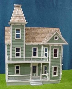 "Rocky Mountain Dollhouses in 1"" Scale From Fingertip Fantasies Dollhouse Miniatures"