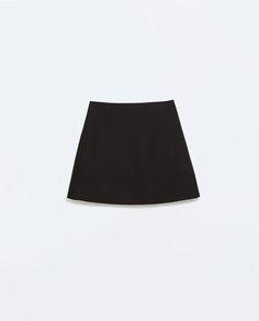 ZARA - WOMAN - FLARED MINI DRESS WITH POCKETS
