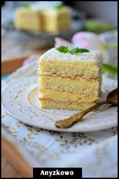 Anyżkowo: Puszyste Rafaello ciasto