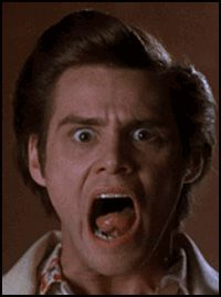 Ace Ventura funny faces