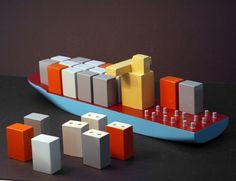Maersk Containership. Design Ole Søndergaard