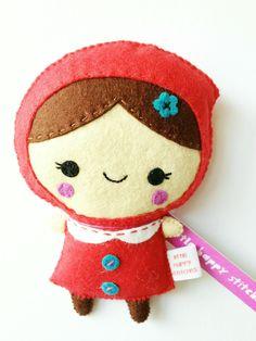 Little Red Riding Hood Plush.