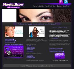 We worked with Magic Brow on a complete website overhaul. The previous design was limited to a static web page so we modernized it and integrated it with WordPress. We added plugins for a retail location finder plus a custom job form so applicants can apply and submit their applications online. http://magicbrow.net/