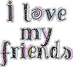 I love my best friends