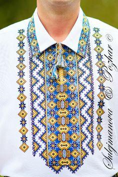 Gallery.ru / Фото #80 - Мои работы My embroidery - maila86 Folk Embroidery, Embroidery Fashion, Embroidery Dress, Cross Stitch Embroidery, Embroidery Patterns, African Men Fashion, Mens Fashion, Ethno Style, Afghan Clothes