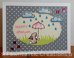 Fawntastic Creations: Simon Says Stamp Wednesday Challenge - Let's Do The Polka! Lawn Fawn Hello Baby