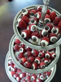 Cream Cheese-Stuffed Raspberries