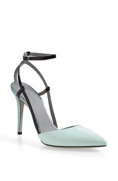 Gorgeous leather pump in #mint http://rstyle.me/n/j2dj9nyg6