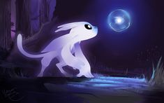 ori and the blind forest concept art - Поиск в Google