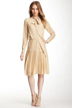Stylish Silhouettes Chloe Silk Wrap Dress