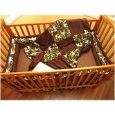 Found it at Wayfair - Camo Crib Bedding Collection...... Think I have found bedding that Troy and I can both agree on. :)