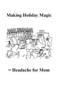 managing holiday stress, modern homemakers christmas newsletter, #wahm, #sahm