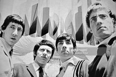 The Who pose for a group portrait, London, 1965. L-R Pete Townshend, John Entwistle, Keith Moon and Roger Daltrey.