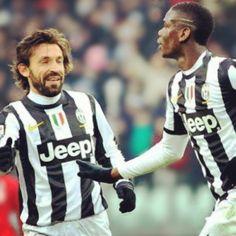 Pirlo and Pogba  Juventus