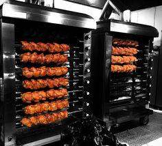 Chicken Bar, Chicken Shop, Roast Pork Knuckle, Pork Roast, Munich Oktoberfest, Container Restaurant, Hamburgers, Cafe Design, Chicken