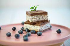 Ptasie mleczko z chia w lżejszej wersji - Pyszności Vegan Cheesecake, Healthy Sweets, Feta, Dairy, Meals, Cooking, Recipes, Hotel Trivago, Agar