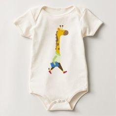 #cute #baby #bodysuits - #Back to School Professor Giraffe T-Shirt