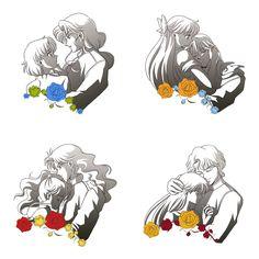 Shitennou and Senshi