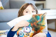 Owl Pillow Novelty Pillow Throw Cushion Home by StudioEmmaKaufmann