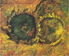 Sunflowers (F.376), Oil on canvas, 50 x 60.7 cm, Kunstmuseum Bern