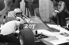 Al Unser - Lola T400 Chevrolet V8 - Vel's Parnelli Racing Team/Viceroy - Labatt's Blue 5000 - Mosport Park  - 1975 SCCA/USAC F5000 Championship, round 2