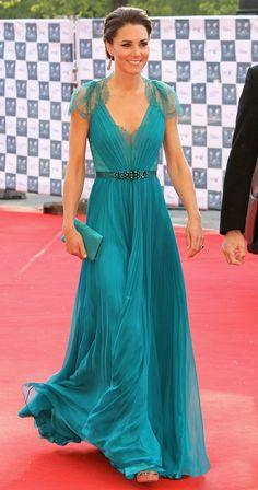 Kate Middleton de Jenny Packham
