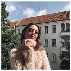 We are in love with the Short Turtleneck Sweater and @maryljean wearing it   #maiamiberlin #knitwear #knitting #knit #fairfashion #slowfashion #handmadewithlove