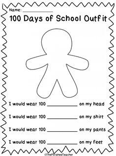 100 Days of School Freebie