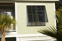 "Browse through our gallery ""Residential Bahama Exterior Shutters"" on the Classic Improvement Products website today. Shutters Exterior, Transitional Decor, Architecture Exterior, Shutters, Exterior Design, Bermuda Shutters, Bahama Shutters, Transitional House, Windows Exterior"