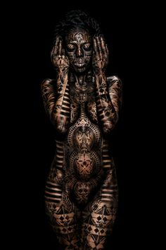 The Tale of Bastet. - The Tale of Bastet. The Tale of Bastet. Full Body Tattoo, Body Art Tattoos, Black Women Art, Black Art, Wicca, Body Paint Cosplay, Full Body Paint, Egyptian Goddess, Afro Art