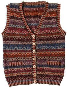 Type:Long SleeveDecoration:TasselThickness:Mid-weightMaterial:Faux Chart Size Shoulder Bust cm inch cm inch S 38 15 105 Fair Isle Knitting Patterns, Fair Isle Pattern, Plus Size Sweaters, Sweaters For Women, Punto Fair Isle, Gilet Costume, Knit Vest, Vintage Sweaters, One Piece Swimwear