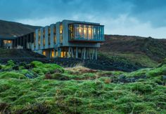 Un albergo con vista vulcano. In Islanda un hotel di design immerso nella natura selvaggia.