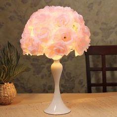 Aglow Roses Table Lamp