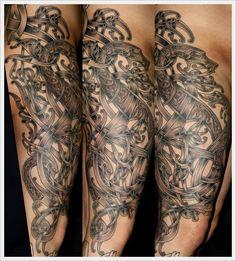 Viking Style Design #viking #tattoo #art