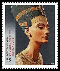 nefertiti postal stamps | Gulfmann Stamps Collection: GERMANY - Queen Nefertiti Cover